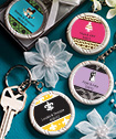 <em>Personalized Expressions Collection</em> Key  Ring Favors