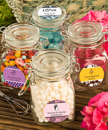 <em>Personalized Expressions Collection</em> Apothecary Jar Favors