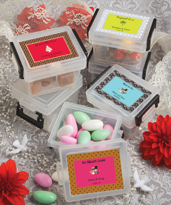 <em>Design Your Own Collection</em> Mini Container  Favors