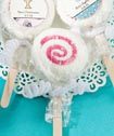 <em>Design Your Own Collection</em> lollipop favors