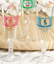 <em>Clearly Custom</em> Personalized Plastic Wine/Champagne Flutes