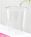 Perfectly Plain Collection Acrylic Shot Glasses