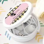 Personalized Ear Bud Headphones From Fashioncraft - Graduation Design