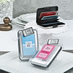 Personalized expressions collection aluminum wallet
