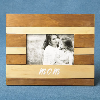Wood two tone frame - MOM