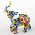 Tie-Dye elephant - large size from gifts by fashioncraft