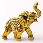 Gold with Jewels elephant - small size from gifts by Fashioncraft®