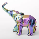 Iridescent elephant - medium size