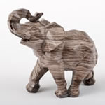 Geometric elephant - small - from gifts by Fashioncraft®