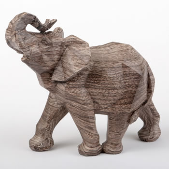 Geometric elephant - medium - from gifts by Fashioncraft®