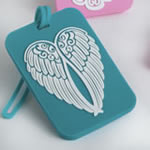 Angel and Angel wings Luggage Tags - 4 assorted designs