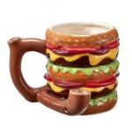Cheeseburger pipe mug from gifts by Fashioncraft®