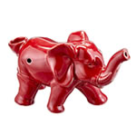 elephant novelty  pipe - red color
