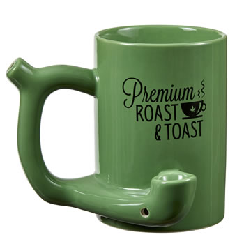 Premium Green roast & Toast mugs