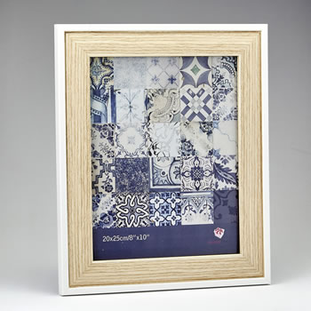 natural wood 8 x 10 frame