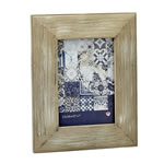 distressed wood wide border 5x7 frame