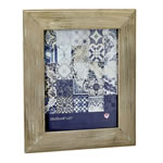 distressed wood wide border 8x10 frame