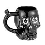 Skull roast and toast mug