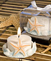 Starfish Design <i>Favor Saver</i> Candle Favors