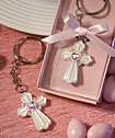 Pink Cross Design <i>Favor Saver</i>  Key Chain Favors