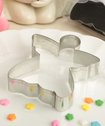 Delighful Angel Shaped Tin Metal Cookie Cutters From Fashioncraft