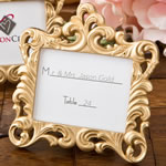Gold Baroque style frame favor from Fashioncraft®