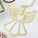 Book lovers collection Gold Guardian angel book mark