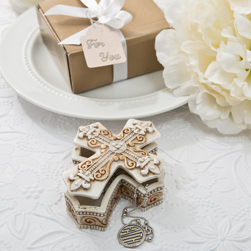 Religious Trinket Box Favors