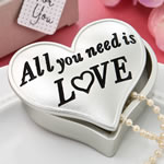 All you need is love heart shaped box from fashioncraft