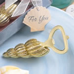 Conch sea shell design bottle opener