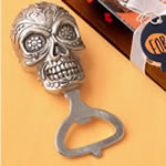 Sugar Skull Bottle opener from our Day of the Dead Collection