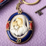 Madonna and Child keychain from Fashioncraft®