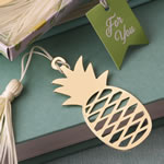Warm Welcome Pineapple bookmark