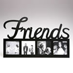 FRIENDS large letter metal frame
