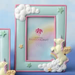 "Unicorn 2"" x 3"" placecard frame / Photo frame"