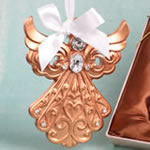 Rose Gold Guardian Angel Ornament from Fashioncraft®