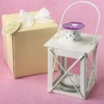 Personalized expressions collection Love Lights the Way Metal Luminous Lanterns (Ivory)