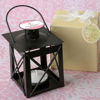 Personalized expressions collection Love Lights the Way Metal Luminous Lanterns (Black)
