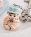 Vintage Baby Boy Key Rings from Fashioncraft