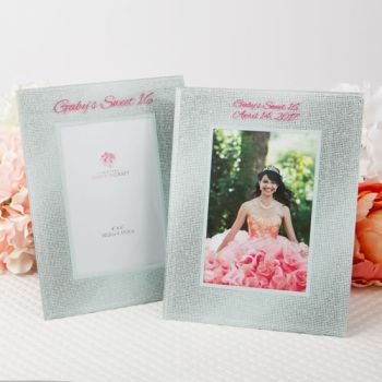 Silk-Screened personalized Glitz and Glamour Frames