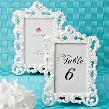 Baroque Design Frames / Table # holders: Fashioncraft
