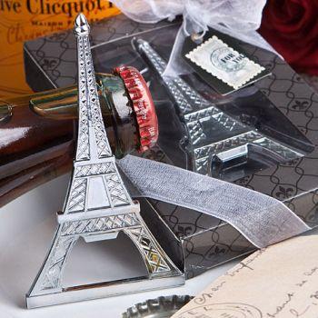 eiffel tower bottle opener favor fashioncraft. Black Bedroom Furniture Sets. Home Design Ideas