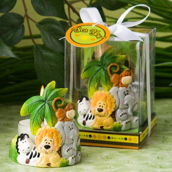 <em>Jungle Critters Collection</em> Candle Favors