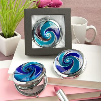 <em>Gifts by Fashioncraft</em> Murano Mirror Compact