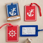 Nautical luggage tags From Gifts By Fashioncraft®