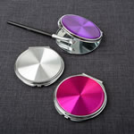 Hologram style compact mirrors from gifts by Fashioncraft®