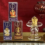 Gifts By Fashioncraft, Lucky Golden Buddha Key Chains