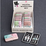 Travel Themed  Manicure Set