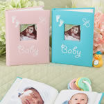 Blue and Pink baby brag books from Gifts by Fashioncraft®