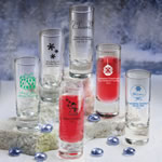 Shooter Glass - Holiday Designs